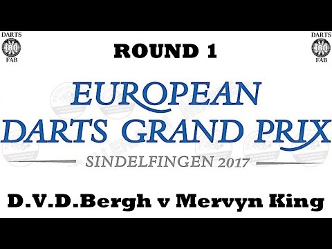 HappyBet European Darts Grand Prix - Round 1 [13of16]: Dimitri Van den Bergh v Mervyn King