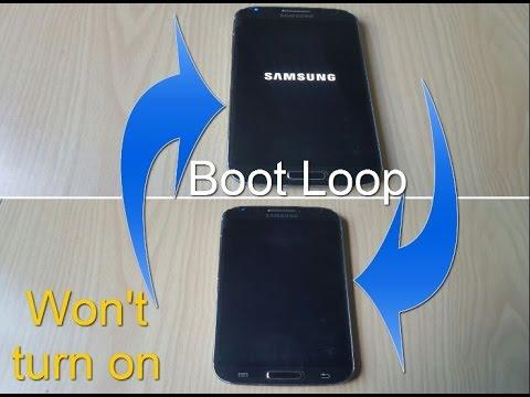 ANY SAMSUNG PHONE FIX: BOOTLOOP,WONT TURN ON Or STUCK On Samsung Logo