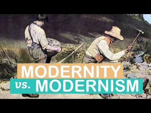 The Difference between Modernity & Modernism | Art Terms | L