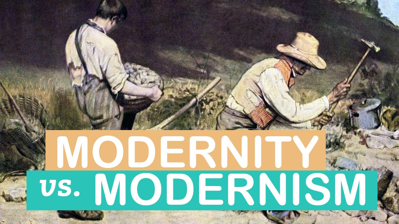 The Difference Between Modernity Modernism Art Terms Littlearttalks Youtube