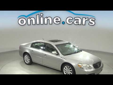 R12178RO Used 2008 Buick Lucerne Silver Sedan Test Drive, Review, For Sale