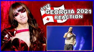 Georgia   Eurovision 2021 Reaction   Tornike Kipiani - You - LIVE