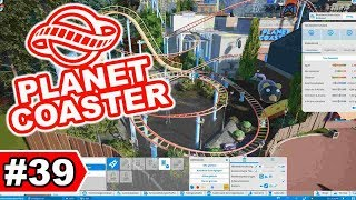 Jurassic Park - The Ride + Stadt-Ratte verbessern    Planet Coaster Let's Play #39