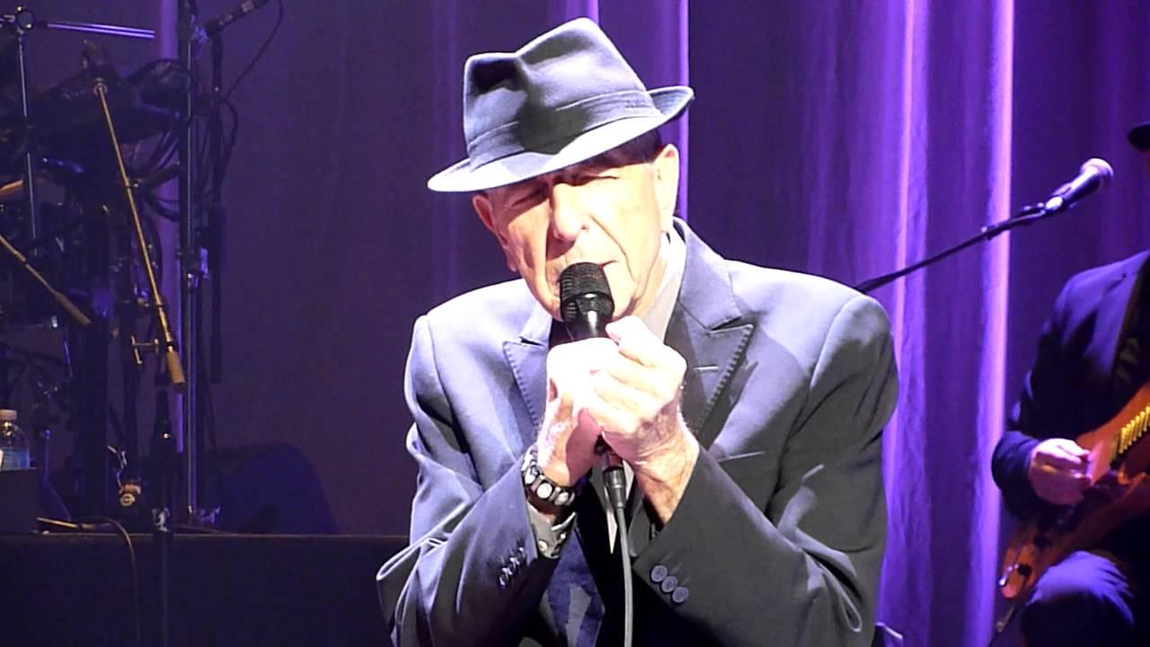 Download Leonard Cohen - Come Healing (live) - Mahalia Jackson Theater, New Orleans - 28-03-2013