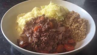 Scottish mince, tatties & skirlie recipe & Cook with me :)