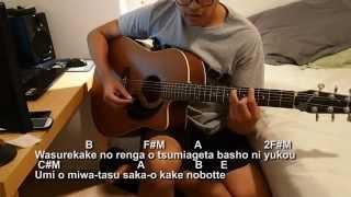 aoi shiori guitar tutorial and cover