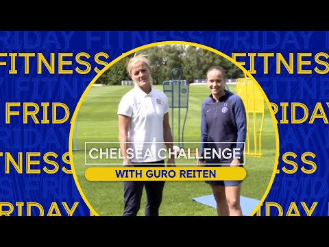 Home Exercises for Kids with Chelsea Players   Fitness with Guro Reiten   Chelsea Challenge Ep.5