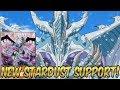 YU-GI-OH! NEW STARDUST SUPPORT! RED-EYES SYNCHRO VS MALEFIC!