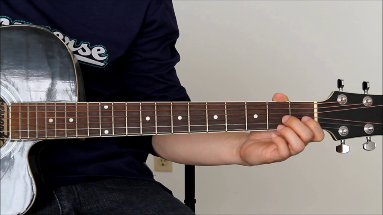 Katie from the kitchen hookup tayo guitar tutorial without capo