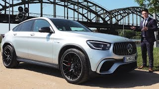 2020 Mercedes AMG GLC63 S Coupe | BRUTAL Drive Review 4MATIC + Sound Acceleration Exhaust