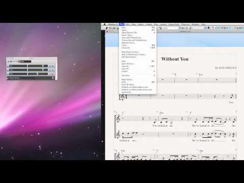 Append Score (merging files) in Sibelius