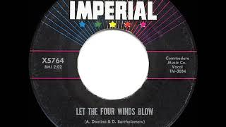 Gambar cover 1961 HITS ARCHIVE: Let The Four Winds Blow - Fats Domino