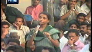 Repeat youtube video Thasni Banu Challenges MM Akbar About Women Rights  | Malayalam Islamic Speech Niche of Truth