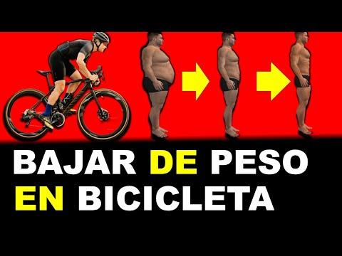 ciclismo para el plan de pérdida de peso