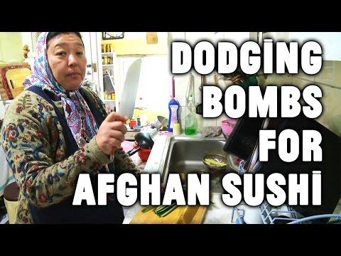 Sushi in Kabul: Defying The Taliban with Maki Rolls
