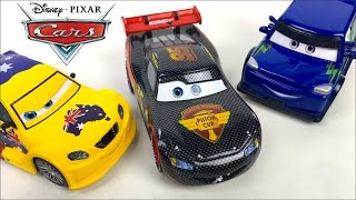 Video COLLECTION DELUXE DISNEY CARS DIE CAST WITH  LIGHTNING MCQUEEN CARBON RACER CHUCK HICKS -  UNBOXING download MP3, 3GP, MP4, WEBM, AVI, FLV November 2017