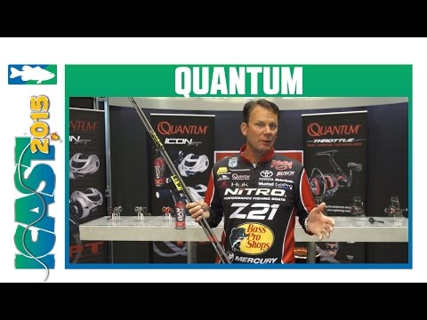 Quantum New Team KVD Rods & New Smoke Rods With Kevin VanDam | ICAST 2015