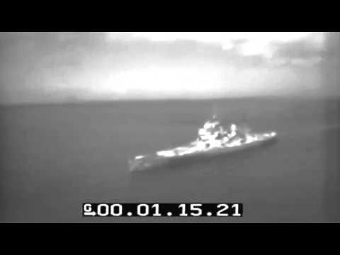 HMS King George V At Guam 1945 WW2 (full)