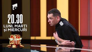 Nicolae Coca Eupsihie, eliminat de la Chefi la Cuțite: