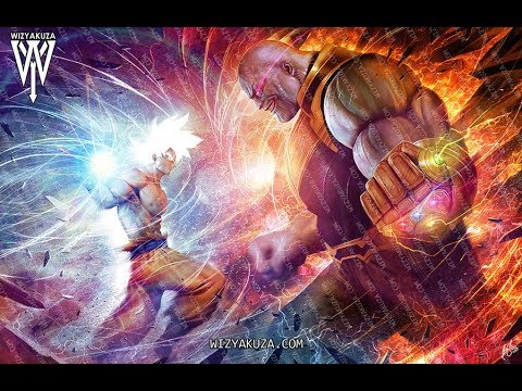 Live Wallpaper Goku Vs Thanos 720p Hd Android Y Pc