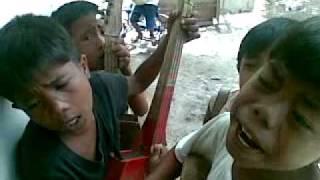 Kids Singing Impatso - funny Bisaya song