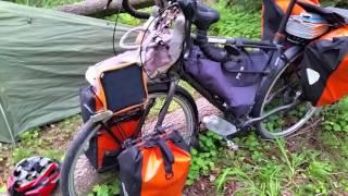 Рассказ о моем велосипеде и палатке