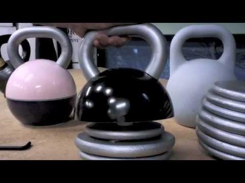 how to make homemade kettlebell