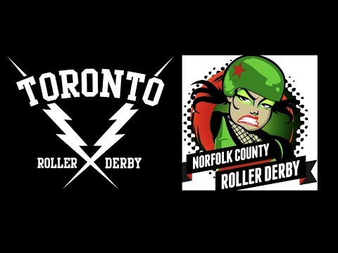 Toronto Vipers vs Norfolk County Roller Derby 3 June 2017 TORD NCRD