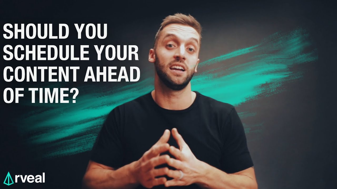 Should you schedule your content ahead of time? | Kap's Show Notes