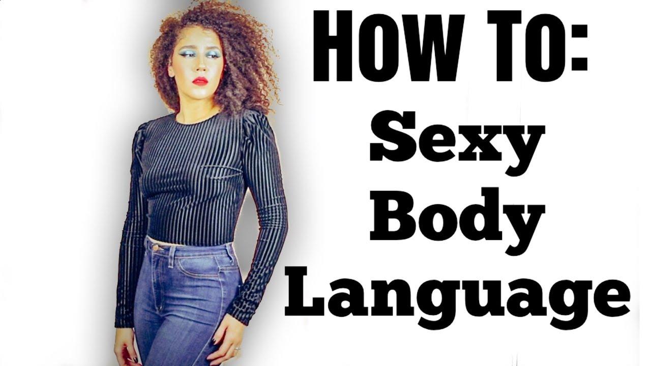 Body language of women in love