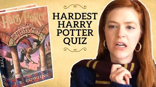 Can You Beat The Hardest Harry Potter Book 1 Quiz?