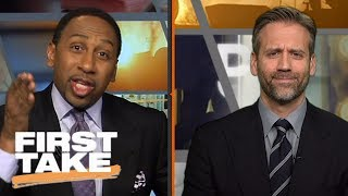 Stephen A. calls Max's excuses for LeBron James and Cavaliers 'disgusting' | First Take | ESPN