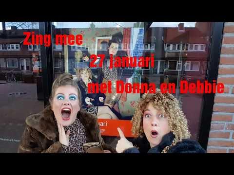 Late Night Karaoke met Donna en Debbie - 27 jan in Flint