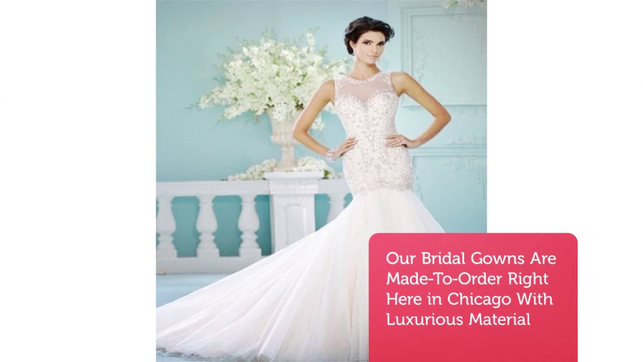 Alyssa Kristin Affordable Wedding Dresses In Chicago Il Youtube