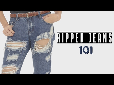The Ultimate Guide To Buying Ripped Jeans - 101 Glamrs