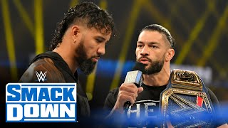 Roman Reigns chastises Jey Uso for Survivor Series failures: SmackDown, Nov. 27, 2020