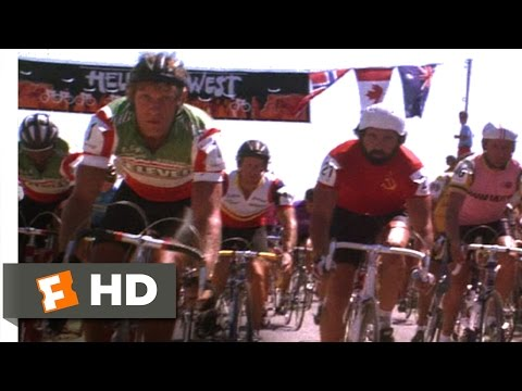 American Flyers (1985) - The Race Begins Scene (5/9) | Movieclips