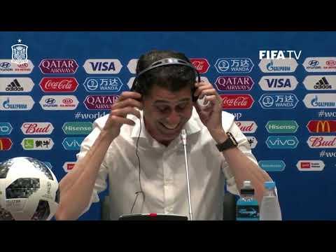 Rueda de prensa Fernando Hierro tras Portugal 3-3 España