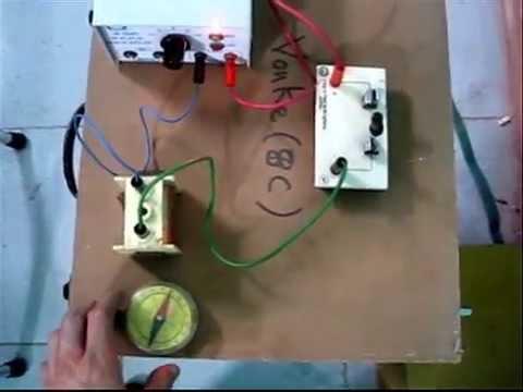 Thí nghiệm vật lý THCS LỚP 7 - BAI 23- phần I: Tác dụng từ của dòng điện