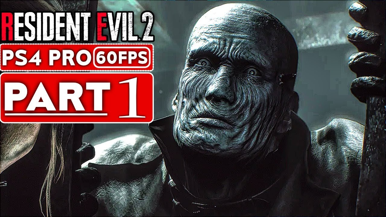 RESIDENT EVIL 2 REMAKE Gameplay Walkthrough Part 1 Leon Story [1080p HD  60FPS PS4] - No Commentary
