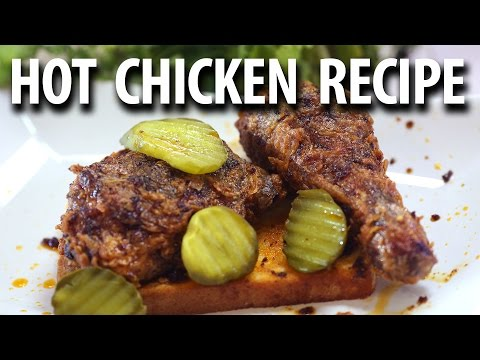 Nashville Hot Chicken Recipe - Smoked Hot Chicken - BIG MEAT SUNDAY