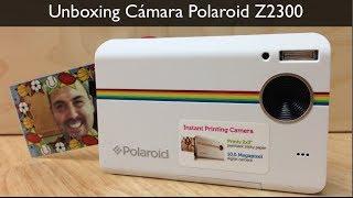 Unboxing cámara Polaroid Z2300