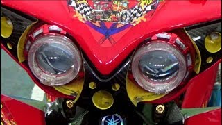 INDAH ; KONTES MOTOR CANTIK STREET RACING NON MATIC ; Purbalingga MODIFICATION CONTEST