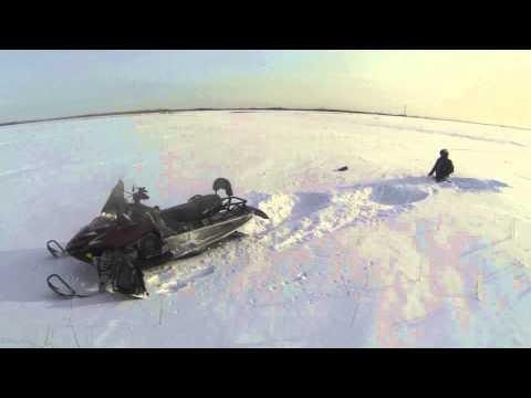 Рекорд дальности Пыть-Ях 2014. Polaris IQ 550 LXT