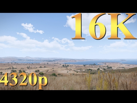 ArmA 3 16K (8K) 4320p Gameplay Titan X Pascal 3 Way SLI PC Gaming 4K   5K   8K and Beyond