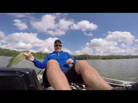 Kayak Bass Fishing: Shaky head bonanza