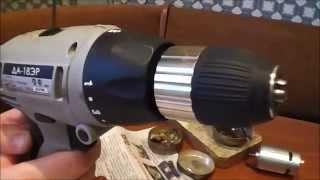 Ремонт шуруповерта (замена двигателя)