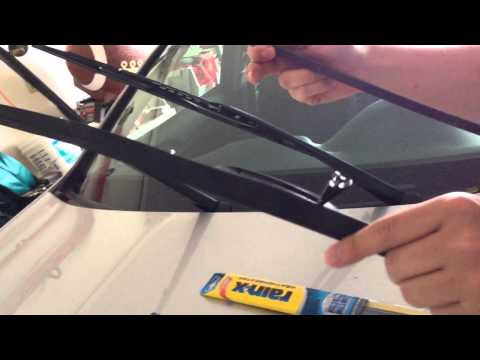 Honda Accord Windshield Wiper replacement easy DIY cheap 200