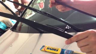 Honda Accord Windshield Wiper replacement easy DIY cheap 2008 2009 2010 2011 2012 8th generation