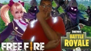 Reacciodo Free Fire vs Fortnite de Luis Gz